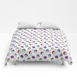 Classic Pokéball Pattern Comforters