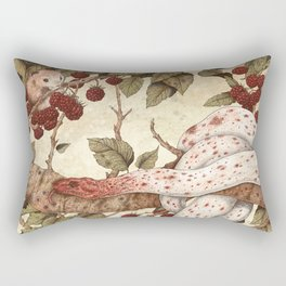 The Mouse and Snake Rectangular Pillow
