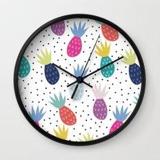 Tropical summer Wall Clock