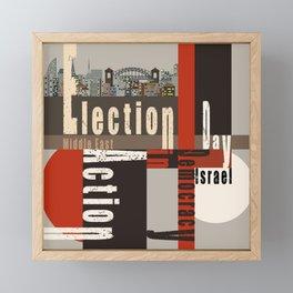Eection Day  1 Framed Mini Art Print