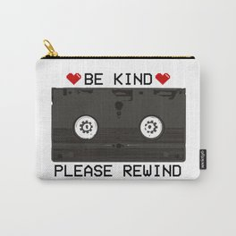 Be Kind, Please Rewind Retro VHS Carry-All Pouch