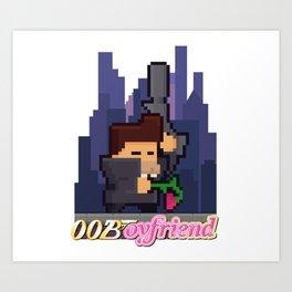 00Boyfriend Art Print