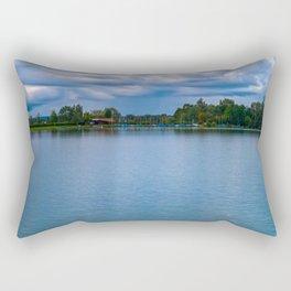 Sailing boats harbor Rectangular Pillow