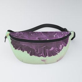 Purple Ruffles Fanny Pack