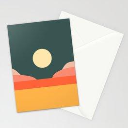 Geometric Landscape 14 Stationery Cards
