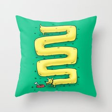 Infinite Wiener Dog Throw Pillow