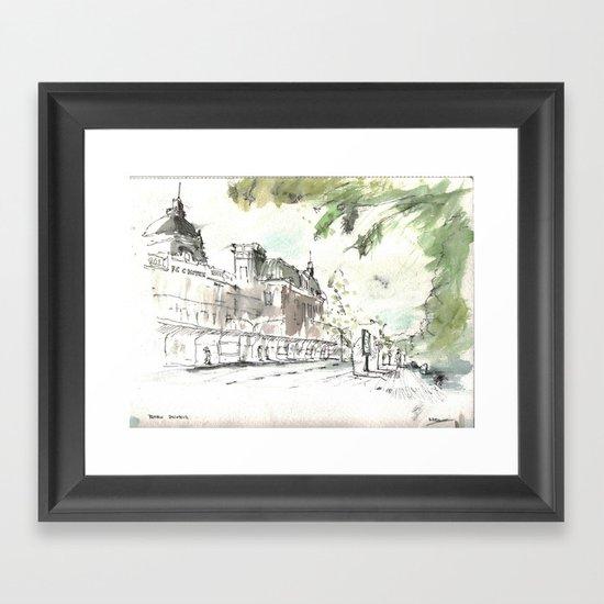Retiro Station Framed Art Print