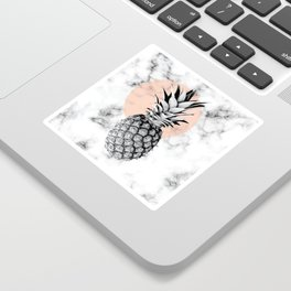 Marble Pineapple 053 Sticker