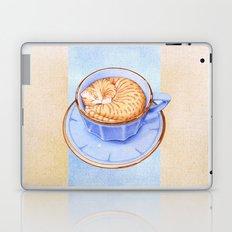 Cat in Coffee Laptop & iPad Skin