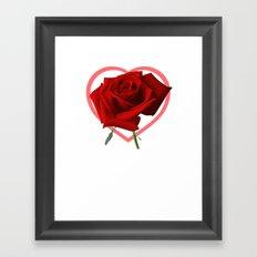Roseheart Framed Art Print