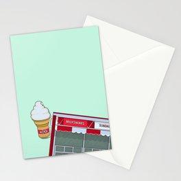 Winnipeg Bridge Drive-In (BDI) Stationery Cards