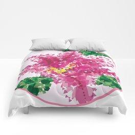 Geometric Lily Comforters