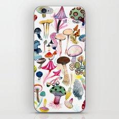 Mushroom Collection - b r i g h t s iPhone & iPod Skin