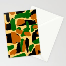 Camouflage Design Stationery Cards