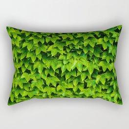 Greenery Luck (Color) Rectangular Pillow