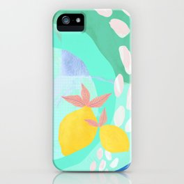 Pink Lemonade - Shapes and Layers no.32 iPhone Case