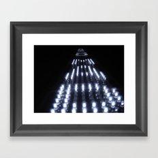 Enter the Void Light Framed Art Print