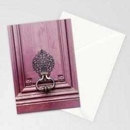Paris Door Knocker II Stationery Cards