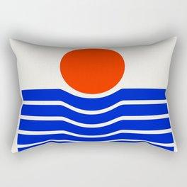Going down-modern abstract Rectangular Pillow