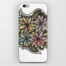 Floral Collage iPhone & iPod Skin