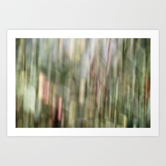 autumn blur Art Print