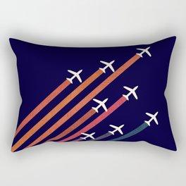 Aerial acrobat Rectangular Pillow