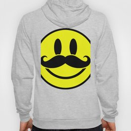 Mustache Smile Have A Nice Day Hoody
