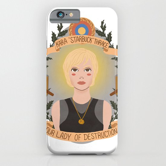 "Kara ""Starbuck"" Thrace iPhone & iPod Case"
