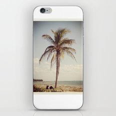 Palm Tree Water Tropical Plant Color Photography iPhone & iPod Skin
