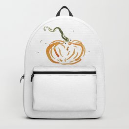 Abstracted Pumpkin Backpack