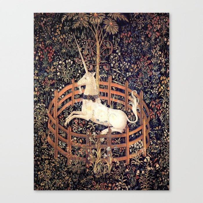 The Unicorn in Captivity Leinwanddruck