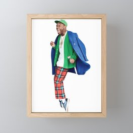 Tyler The Creator. Framed Mini Art Print