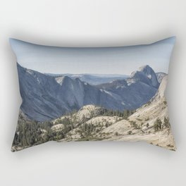 The Other Side of Half Dome Rectangular Pillow
