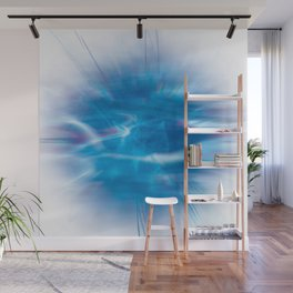 Mystic Blue Wall Mural