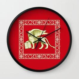Flag of Venice Venezia Wall Clock