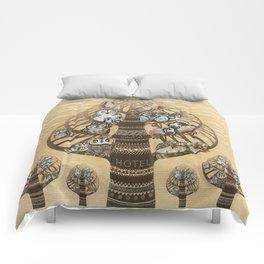 Owl Hotel Comforters