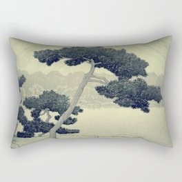 Midnight Meditation at Huugi Rectangular Pillow