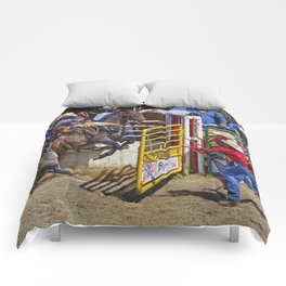 The Release - Rodeo Bronco Riding Comforters