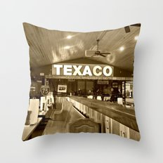 Texaco Throw Pillow