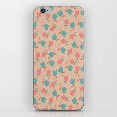 Floral Bit iPhone & iPod Skin