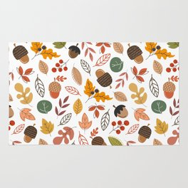 Hello Fall Pattern Rug