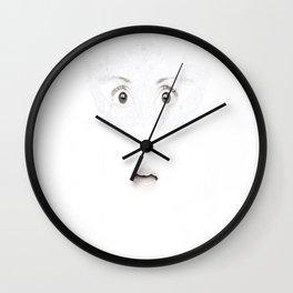""" Beneath the surface "" Wall Clock"