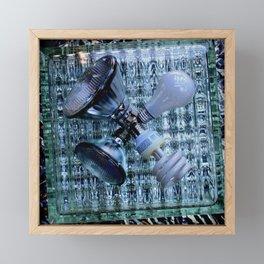 Burn-out Framed Mini Art Print