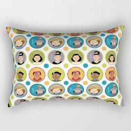 Awesome Women Rectangular Pillow