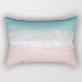 Beach shoreline | Waves Rectangular Pillow