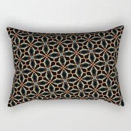 Celtic copper diamonds Rectangular Pillow
