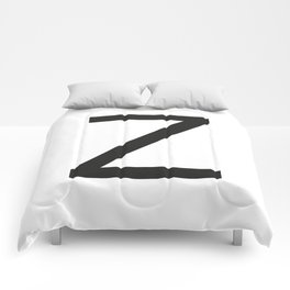 Letter Z Comforters