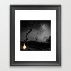 Beckoned Framed Art Print