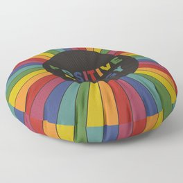 Positive Energy Floor Pillow
