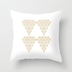 Geometric Diamond Throw Pillow